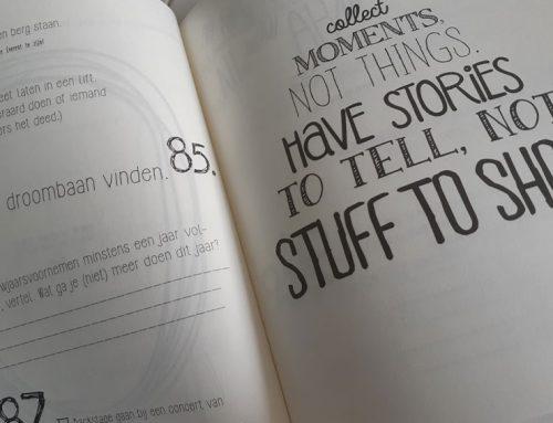 Het bucketlist-boek als stresshanteringstip